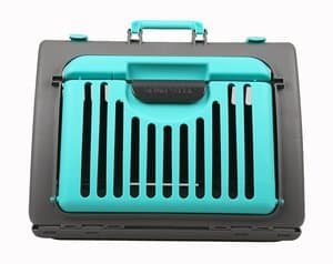 SportsPet Designs - Collapsible Cat Carrier Plastic Cat & Dog Cage Portable Pet Products