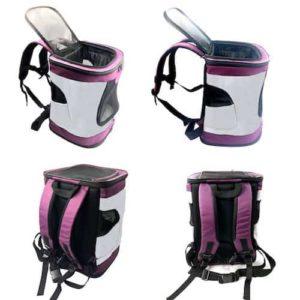 VOKPETS Comfort-Sided Dog Carrier Backpack