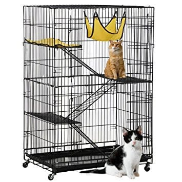 Topeakmart 4-Tier Foldable Cage