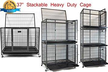Homey Pet Open Top Heavy Duty Cage