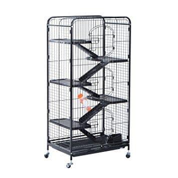 """Pawhut 52"""" 6 Level Indoor Animal Cage"""