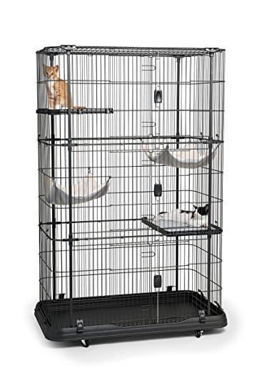 Prevue Pet Products Premium 4 Level Cat Home