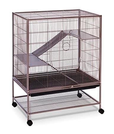 Prevue Hendryx Earthtone Dusted Rose Rat & Chinchilla Cage