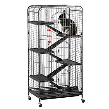"""Yaheetech 52"""" 6 Level Indoor Small Animal Cage"""