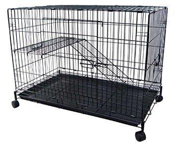 YML 2 Levels Small Animal Chinchilla Cat Ferret Cage