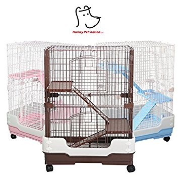 Homey Pet 3 or 1 Tier Small Animal Crate