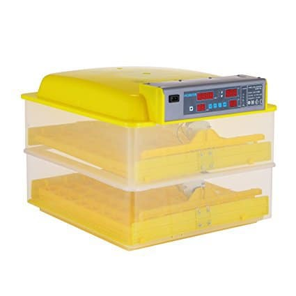 Happybuy 112 Egg Incubator 2 Layer Automatic Egg Incubator
