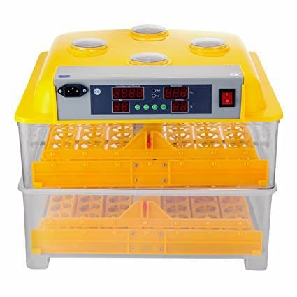 VEVOR Egg Incubator 112 Eggs 2 Layer