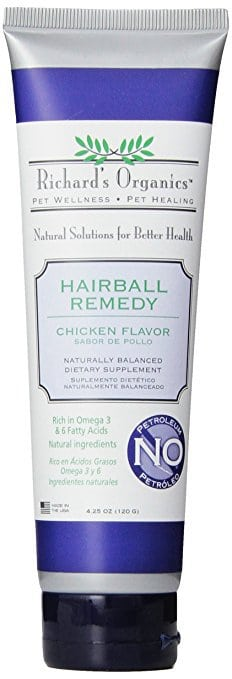 SynergyLabs Richard's Organics Chicken Flavored Hairball Remedy