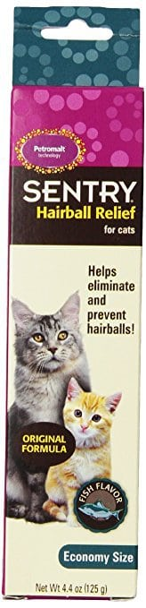 SENTRY Hairball Relief for Cats