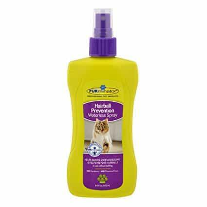 FURminator Hairball Prevention Waterless Spray