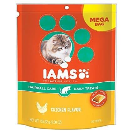IAMS PROACTIVE HEALTH Hairball Care Daily Treats