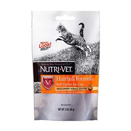 Nutri-Vet Hairball Formula Chicken and Tuna Soft Chews