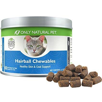 Only Natural Pet Hairball Remedy For Cats
