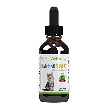 Pet Wellbeing - Hairball Gold for Cats