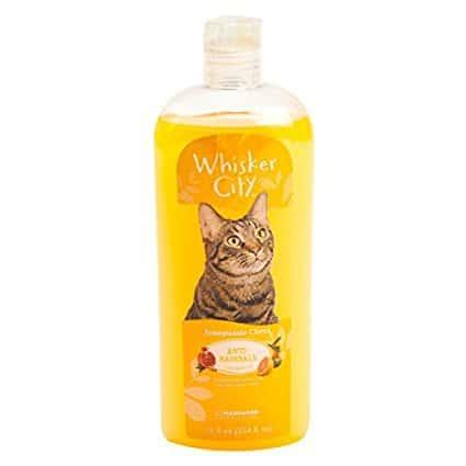 Whisker City Anti-Hairball Cat Shampoo