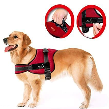 Lifepul(TM) No Pull Dog Vest Harness