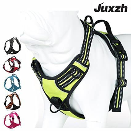 JUXZH Soft Front Range Dog Harness