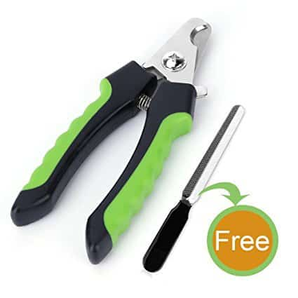 FUNUSE Dog Nail Clippers and Trimmer with Quick Sensor