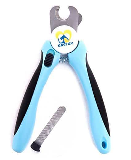 Casfuy Dog Nail Clippers and Trimmer