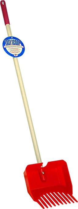 Easy Pet Waste Scoop with Wood Handle