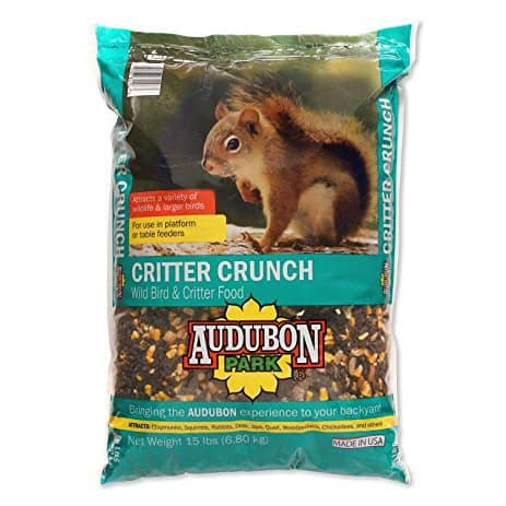 Audubon Park 12243 Critter Crunch Wild Bird and Critter Food