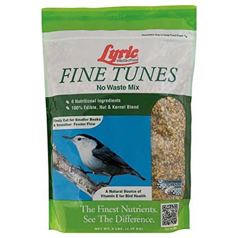 Lyric Bird Seed Fine Tunes No Waste Mix