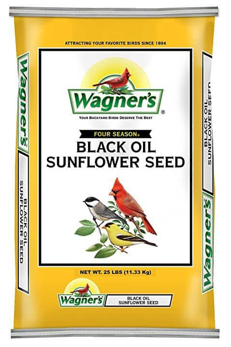 Wagner's 76027 Black Oil Sunflower