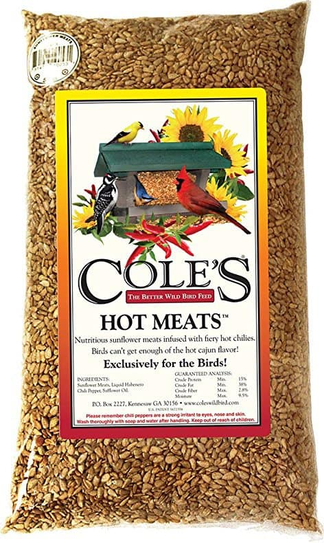 Cole's HM10 10 Pound Hot Meats Seed