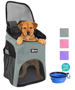 Pawsse Pet Carrier Backpack for Small Dogs
