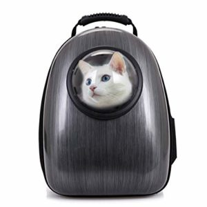 Pettom Dog Cat Pet Carrier Backpack Airline Approved Travel Hiking Bubble Backpack