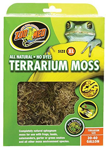 Zoo Med Terrarium Moss 30 to 40 Gallons