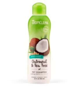 TropiClean Oatmeal and Tea Tree Pet Shampoo