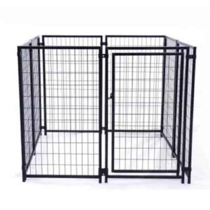 ALEKO DK5X5X4 Dog Kennel Heavy Duty Pet Playpen
