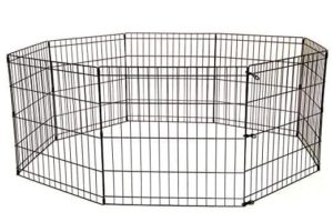 BestPet Tall Dog Playpen Crate Fence Pet Kennel Play Pen Exercise Cage