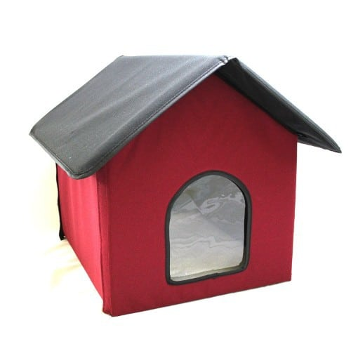 Cell Glove Outdoor Heated Cat House