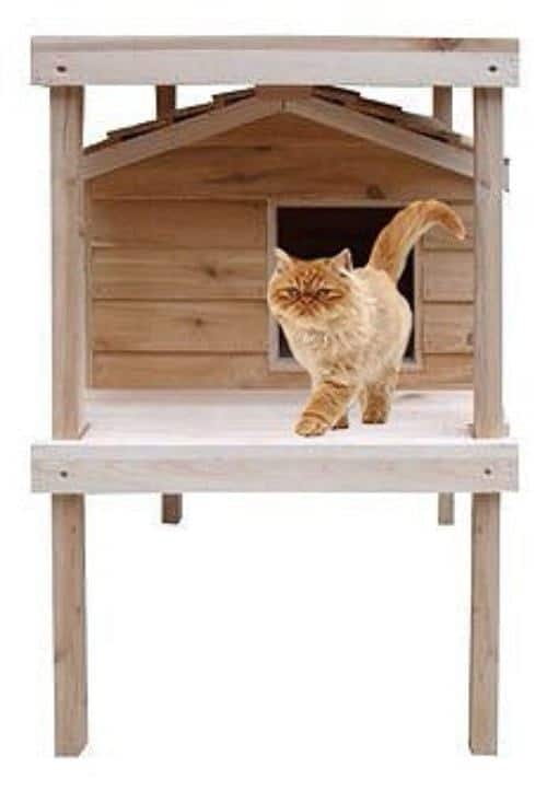 CozyCatFurniture Waterproof Large Cat House