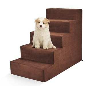 Delxo High Density Foam 5-Step Pet Stairs