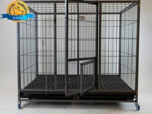 "Homey Pet-49"" Extra Large Heavy Duty Metal Dog Cage"