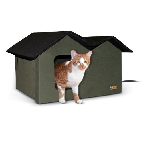 K&H Pet Products Extra-Wide Outdoor Kitty House