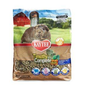 Kaytee Timothy Complete Plus Flowers & Herbs Guinea Pig Food-min