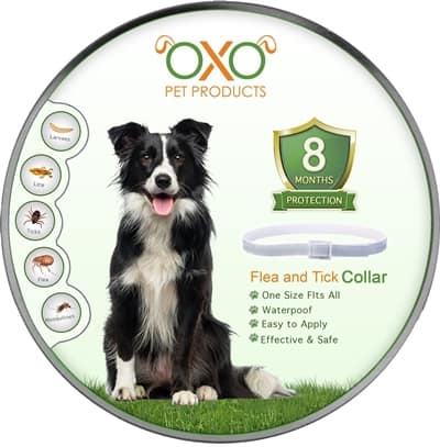 OXO PET PRODUCTS Tick and Flea Collar For Dogs