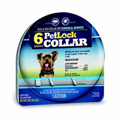 PetLock Six Month Collar for Fleas and Ticks - Small