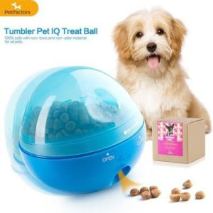 Petfactors Tumbler Pet IQ Treat Ball