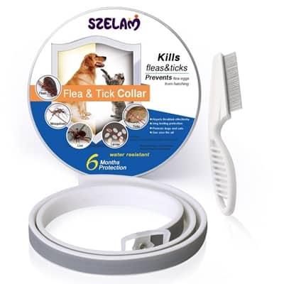 SZELAM Waterproof Flea & Tick Collar