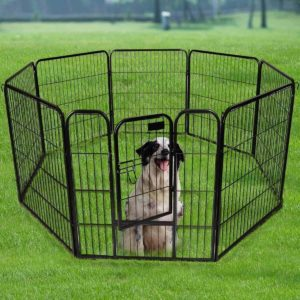 Safstar Heavy Duty Pet Outdoor Exercise Playpen
