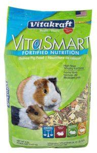 Vitakraft Guinea Pig Food High Fiber Timothy Formula 1 Pouch 8 lb-min