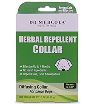Dr. Mercola Herbal Repellent Collar For Dogs