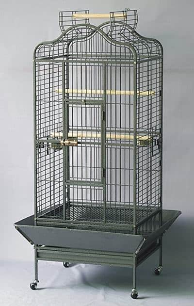 Homey Pet L24 xW22 xH61 Large Parrot Cage