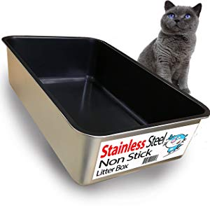 iPrimio Ultimate Stainless Steel Litter Box